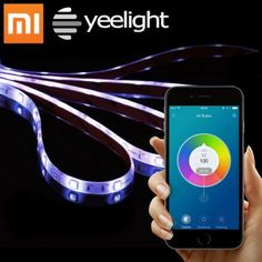 Xiaomi Yeelight Smart Light Strip - Your Personal Ambient Lighting  If you have been looking for something to set the mood at your home, whether it be for a party, romantic evening or a pleasant atmosphere, the new Yeelight Smart Light Strip will definitely come in handy. It is basically a flexible strip that can be stick to any corners in your home, illuminating the region with different colors. With WiFi connection, you can choose from 16 million colors and have special control on your…