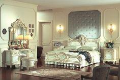 Arredi eleganti in camera da letto