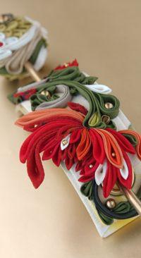 Fire Raijin-knob crafted (- Himeko -): Movies: Noan yarn kimono accessory shops (Netsuke, obi tie, ornamental hairpin, hairpin, sum accessories, etc.)