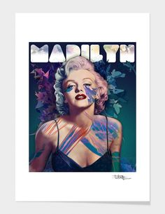 """Marilyn"" - Limited Edition Print by Alessandro Pautasso for Curioos"