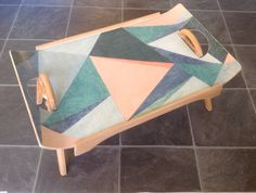 Mid century modern bedtray or laptop or coffee table, designed by Centurion and labelled on base.mFolds flat. Very collect able. £250.00 plus carriage from stephdouet@gmail.com