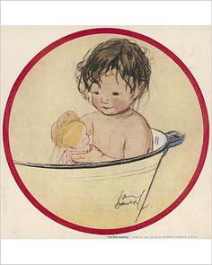 Photographic Print of Water Babies by Muriel Dawson