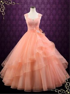 Find Stylish Dresses For Any Occasion Peach Prom Dresses, Peach Gown, Quince Dresses, Event Dresses, Peach Color Dress, Custom Dresses, Black Cocktail Dress, Quinceanera Dresses, Stylish Dresses