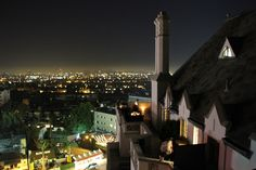 Night view from Chateau Marmont