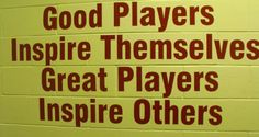 what makes a good player become great in #tennis and in life? This: