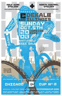DeKalb Race Flyer