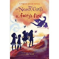 The Never Girls Book - ''A Fairy's Fire'' | Disney Store In this hardcover ''Magical Special Edition'' of the New York Times bestselling Disney <i>The Never Girls</i> series, Kate, Mia, Lainey, and Gabby are excited to find a new fairy in Never Land - the very first fire talent fairy ever!