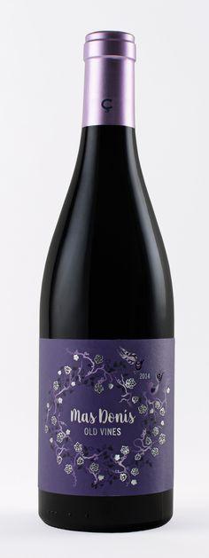 Mas Donis Old Vines Celler de Capçanes. Design by girafadigital.com