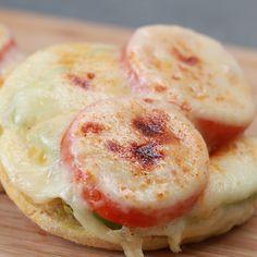 Quick And Easy Tomato Avocado Melt