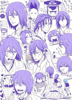 Find images and videos about purple, violet and kuroko no basket on We Heart It - the app to get lost in what you love. Fanarts Anime, Anime Manga, Anime Guys, Anime Art, Kuroko No Basket, Wattpad, William Afton, Haikyuu Volleyball, Wise Monkeys