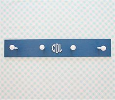 @rosenberryrooms is offering $20 OFF your purchase! Share the news and save!  Wood Circle Monogram Coat Rack #rosenberryrooms