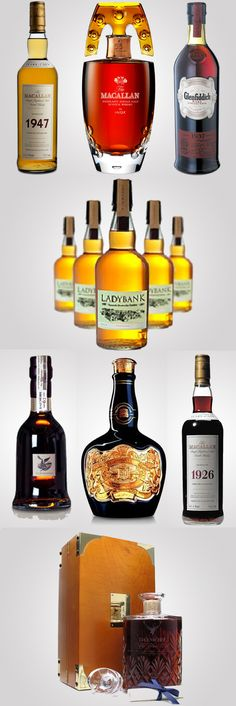 The 10 most expensive and exquisite whiskies in the world from http://luxurylaunches.com/featured/the-10-most-expensive-and-exquisite-whiskies-in-the-world.php