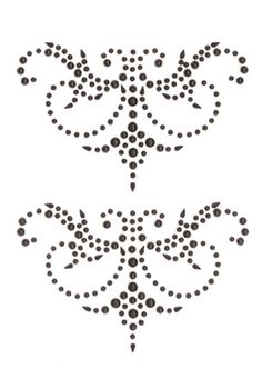 Creative Imaginations - Cheers Collection - Bling - Self Adhesive Gems - Black Flourish at Scrapbook.com $3.49
