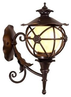 outdoor cottage - Google Search-globe lamp