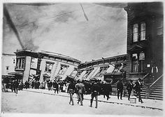 1906 San Francisco Earthquake Pictures: Collapsed Buildings