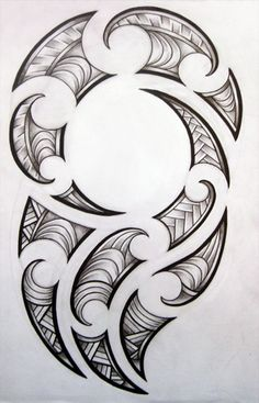 Maori design for my brother by ~josephine76 on deviantART
