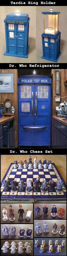 Here are some cool and creative Dr. Who gadgets, accessories.