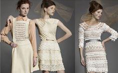 Vestidos de Crochê -