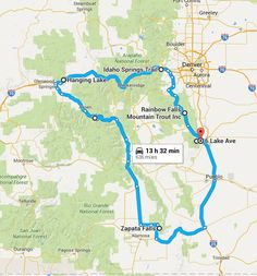 The weather in Colorado is absolutely glorious, which means it's time to get out and celebrate with an epic road trip around our beautiful state.