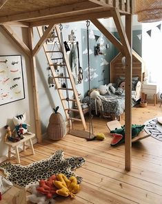 Viktoria's Awe-Inspiring Kids Rooms Filled With Pretty Design - NordicDesign Room Interior, Interior Design, Minimalist Kids, Kids Room Design, Kids Bedroom, Room Inspiration, Room Decor, Kid Decor, Nursery Decor