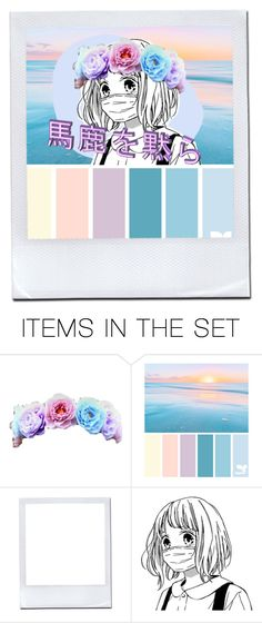"""""""//waves//"""" by veftss ❤ liked on Polyvore featuring art"""