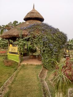 Tulsi Mancha at OmniDEL Green Village..a lush green ecosystem in the heart of New Town