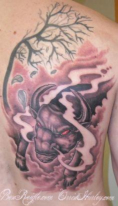 Best half sleeve tattoo ideas for men tattoo ideas for Raging bull tattoo