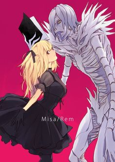 FAN MADE/FAN ART ANIME & MANGA, Misa and Rem, Death Note