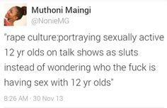 For real! I'm sooooo sick of seeing the 1 virgin guy and a panel of young sexually active girls. Get the boys in there too and shame them!