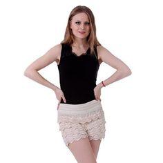 HDE Women's Fitted Scallop Hem Crochet Lace Mini Shorts, http://www.amazon.com/dp/B00MHVVTU0/ref=cm_sw_r_pi_awdm_pFRUub01KQYQ0