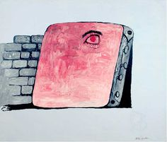 Philip Guston The Canvas, 1973 oil on canvas 67 x 79 inches