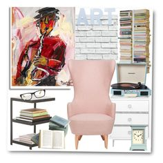 """My reading corner.."" by gul07 ❤ liked on Polyvore featuring interior, interiors, interior design, home, home decor, interior decorating, Universal Lighting and Decor, Radius Design, Tom Dixon and Crosley Radio & Furniture"