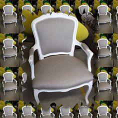 Omtrekk av stol