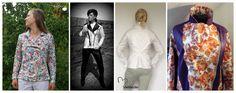 Oberteile & Jacken - Papierschnitt Jacke Lady in Denim 32-50 - ein Designerstück von Schnittherzchen bei DaWanda