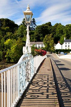Bridge from Wales to England Chepstow Monmouthshire Wales, via Flickr.