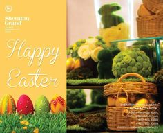 Happy Easter!  Come visit us and capture your easter moments. Experience the special offers only at Sheraton Grand Jakarta Gandaria City.  #Easter #SheratonGrandJakarta #Hotel #Luxury #Lifestyle