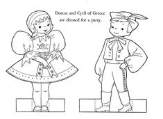 Children of Other Lands 1954 Australia New Zealand South Africa Egypt Turkey Russia Poland Yugoslavia and Greece Q is for Quilter Baby Coloring Pages, Coloring Pages For Kids, Coloring Books, World Thinking Day, Kids Around The World, Hand Embroidery Patterns, Digital Stamps, Line Drawing, Baby Quilts