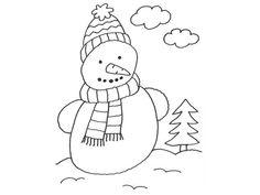 schneemann zum ausdrucken malvorlagen schneemann winter coloring snowman malvorlagen