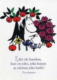 Wax Seal Ring, Cant Help Falling In Love, Tove Jansson, Children's Book Illustration, Illustrations, Kids Lighting, Weird Creatures, Moomin, Little My