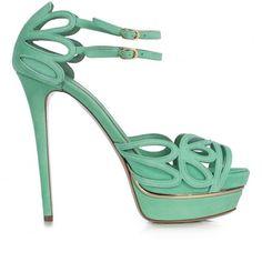 $: menta, collezione scarpe Le Silla S/S 2014