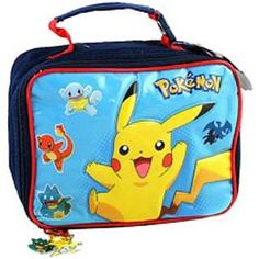 Pokemon Lunch Bag $12.99