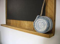 Lavagna. Blackboard. Ardesia ligure su legno by MosaicGREENshop