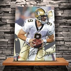 Personalized Officially Licensed NFL Signature 18 x 24 Canvas Prints- 11 Players