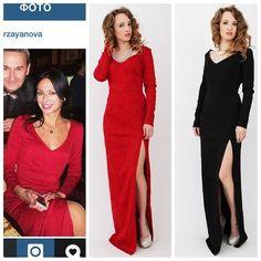 Красное платье для Айгуль
