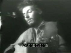 Bruce Springsteen - Henry Boy live at Max's Kansas City NY on August 1972 First known video of Bruce. This is Bruce's official debut gig as a contracted . Bruce Springsteen The Boss, E Street Band, Asbury Park, August 10, Video Footage, Watch Video, Kansas City, New York City, Jazz