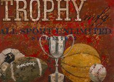 vintage sports canvas