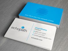 """After an extensive brand assessment, xiik developed a comprehensive marketing strategy, which led to a name change. EFS Backup Technologies became """"echopath,"""" a name chosen as an assurance that data will always return safely to clients, just like an echo. Name Change, Assessment, Business Ideas, Names, Cards Against Humanity, Branding, Technology, Led, Marketing"""