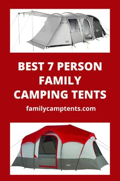 Pin on Family camping tents