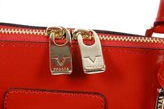 Versace 19.69 Abbigliamento Sportivo Ladies Red Handbag C151/52 SPECCHIO ROSSO