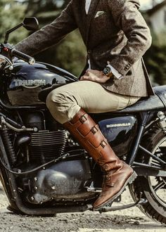 Boots — The Distinguished Gentleman's Ride For a Cause, Paris Style Edition. Photography by Laurent Nivalle.